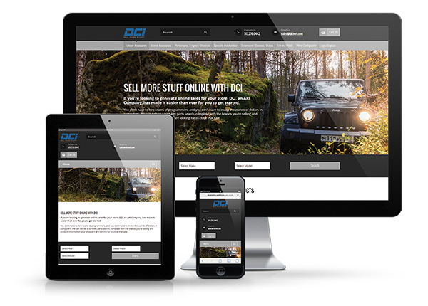 Website Solutions   DCi, an ARI Company
